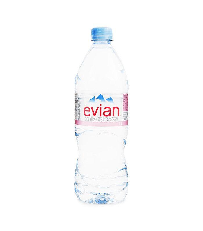 bottled-water-shiny-hair