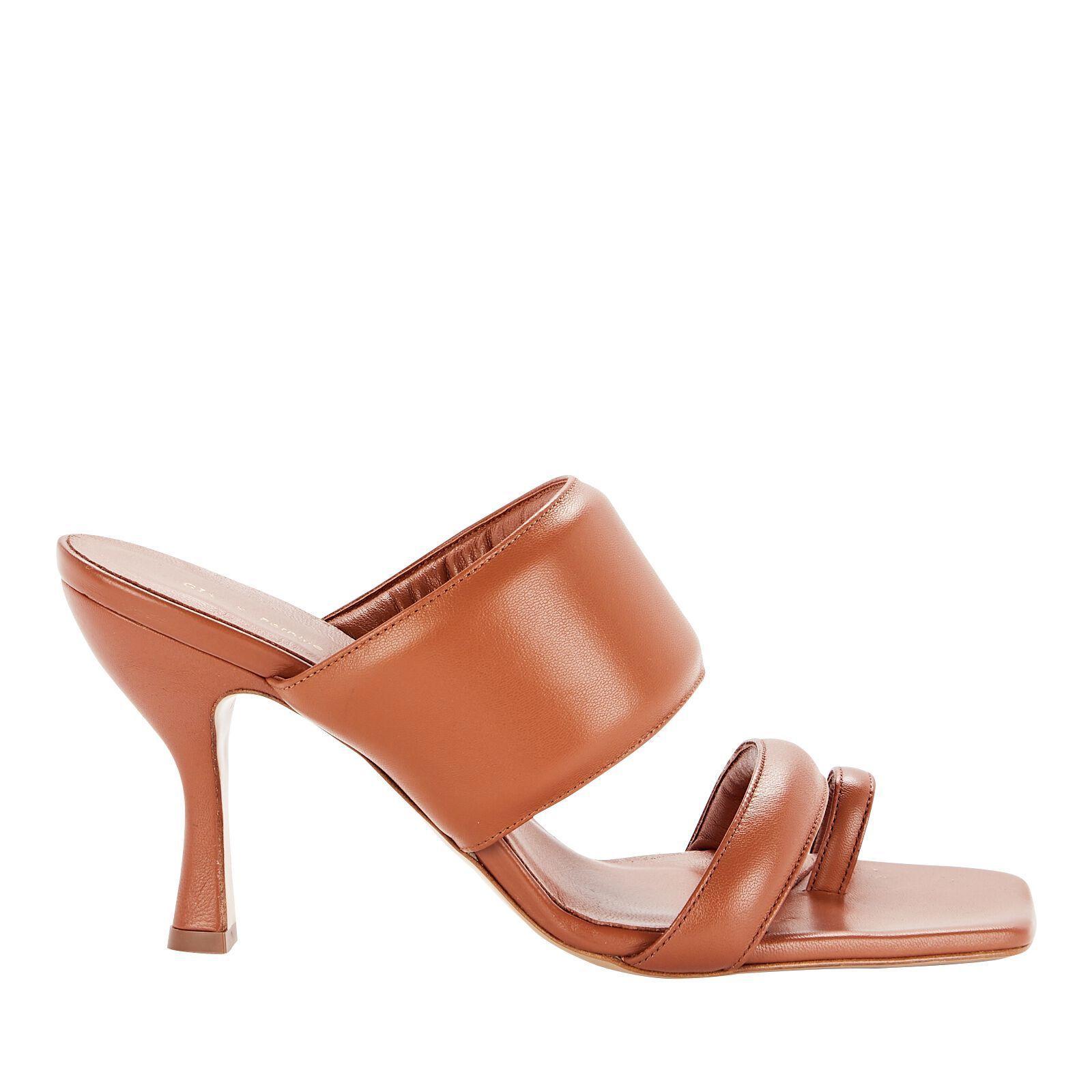 Gia Couture x Pernille Teisbaek Puffer Slide Sandals