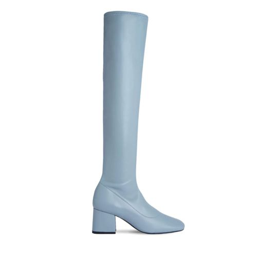 By Far Carlos Stretch Leather Tall Boots