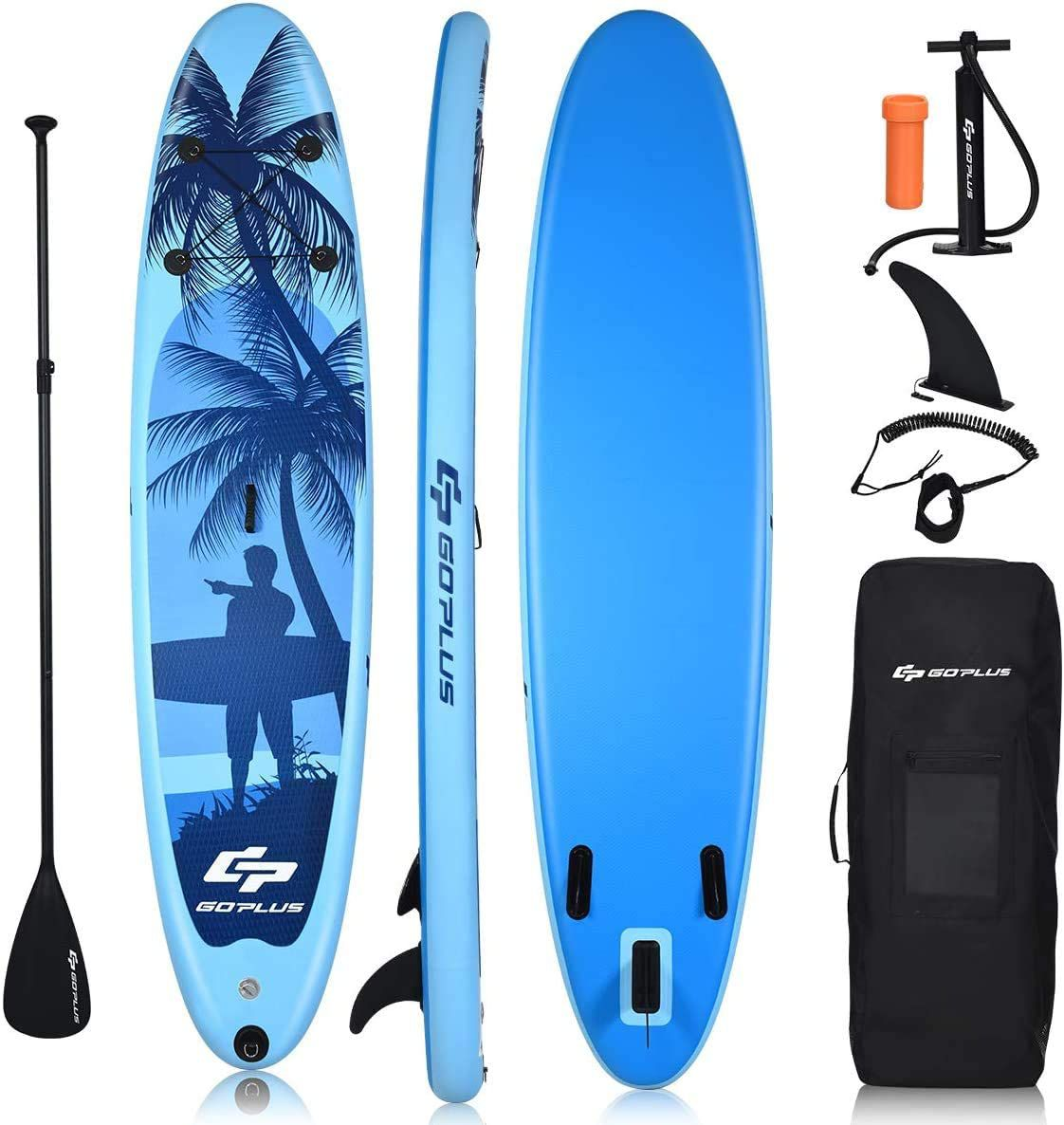 Goplus 9.8'/10'/11' Inflatable Stand Up Paddle Board