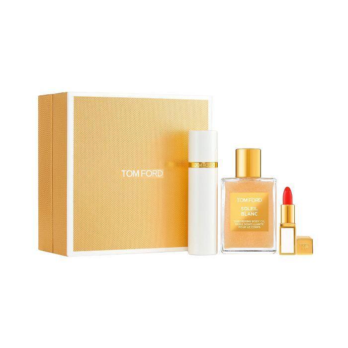 Soleil Blanc Shimmer & Travel Set