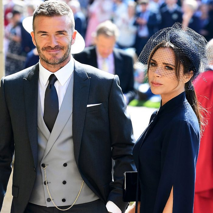 Royal Wedding Guests: David and Victoria Beckham