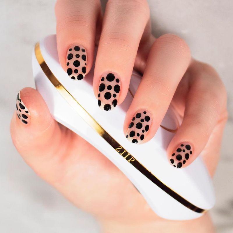 Simple Nail Designs Yayoi Kusama Dots