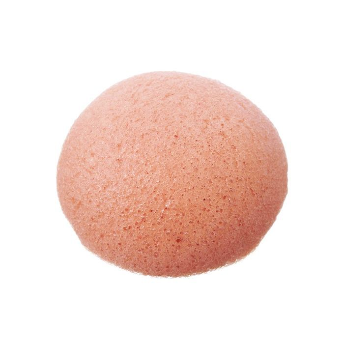 The Konjac Sponge Company Pure Konjac Puff Sponge With French Pink Clay y