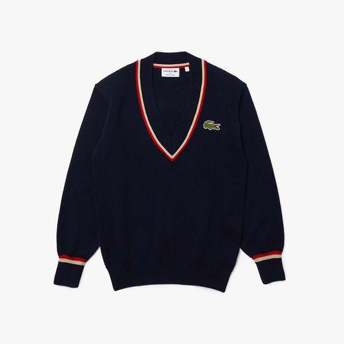 V-neck Honeycomb Knit Sweater ($110.99)