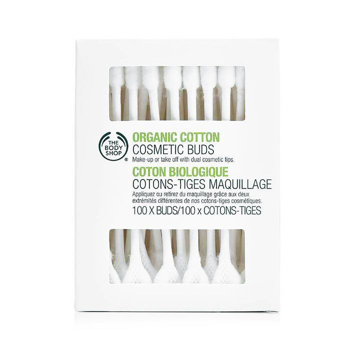Eco-friendly beauty: The Body Shop Organic Cotton Cosmetic Buds
