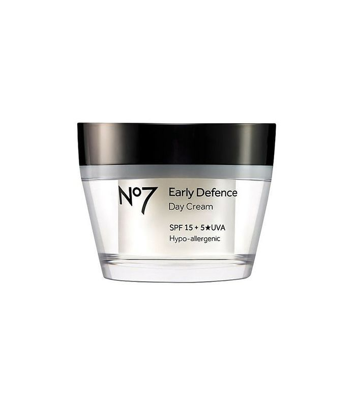 No7 Early Defence Day Cream SPF 30 - best fall moisturizers
