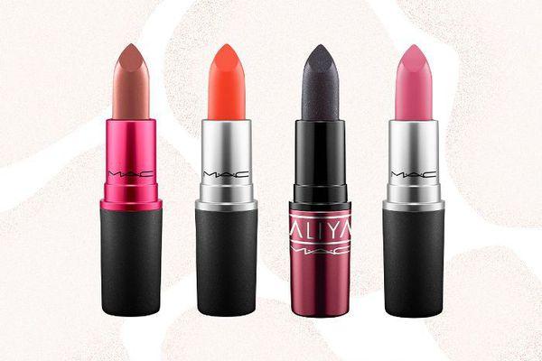 graphic of mac lipsticks
