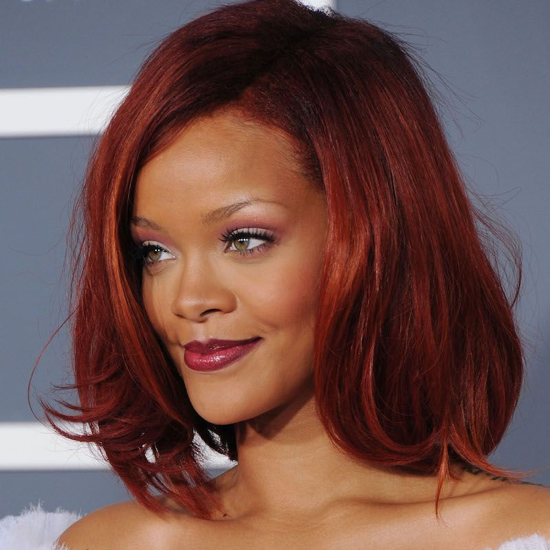Short Medium Long Black Hairstyles Sleek Bob Rihanna