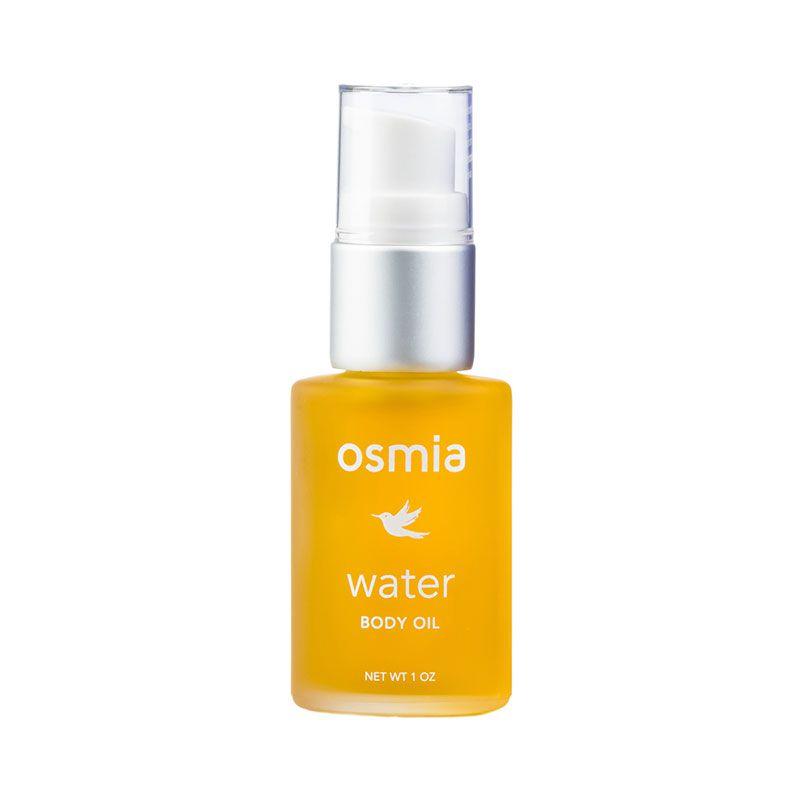 osmia organics water body oil