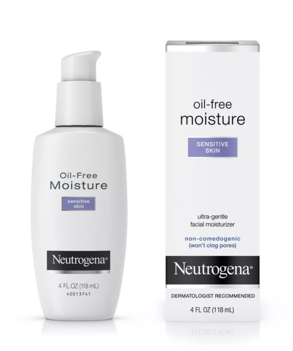 Oil free moisture by Neutrogena