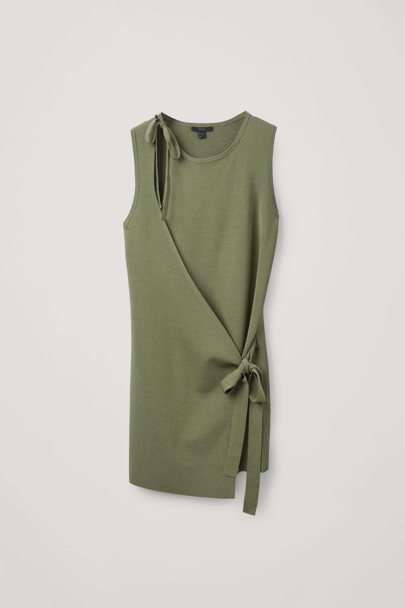 Cos Wrap Vest Top