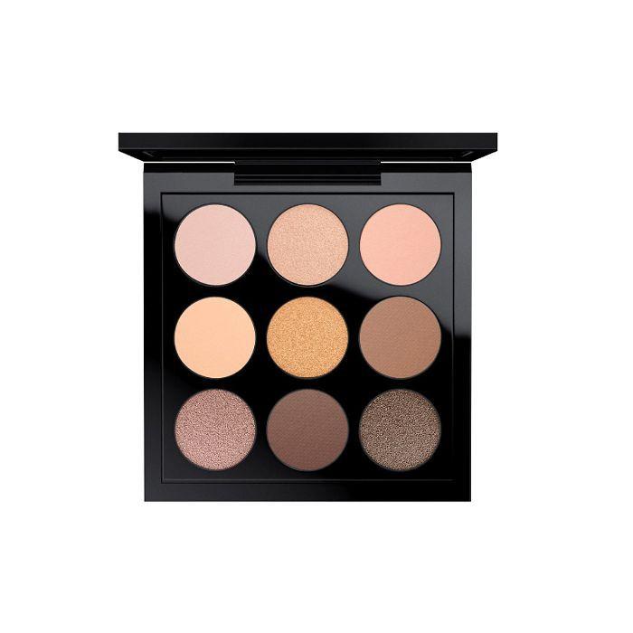 best rose gold eye shadow: MAC Amber Times Nine