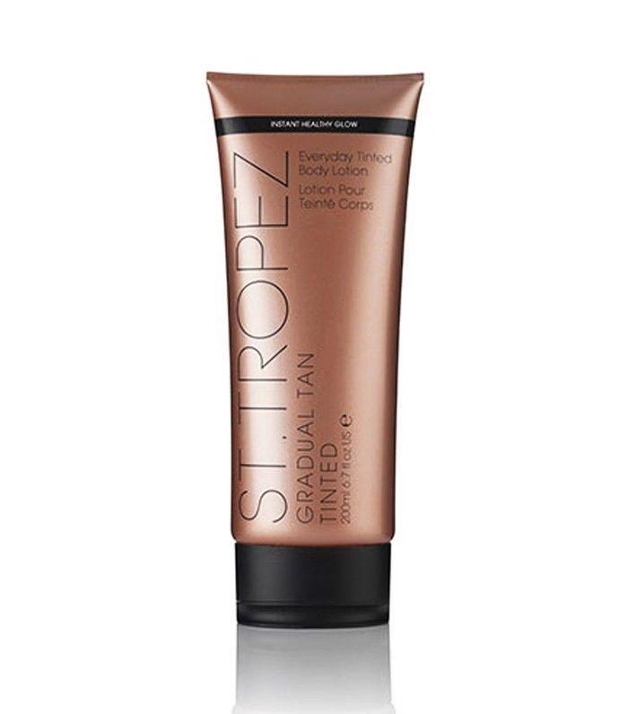 best gradual fake tan: St. Tropez Gradual Tan Tinted Body Lotion
