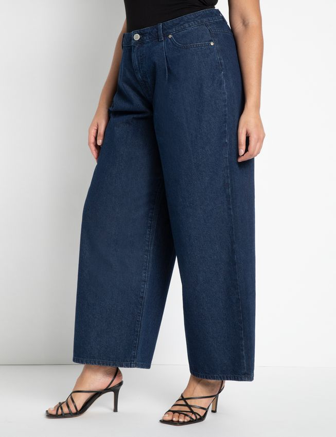 Eloquii Wide-Leg Jeans
