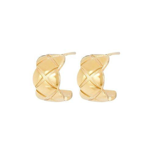 Oma the Label The Nneoma Huggie Hoop Earrings