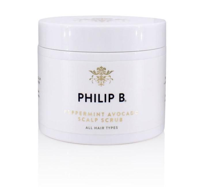 Philip B. Peppermint Avocado Scalp Scrub