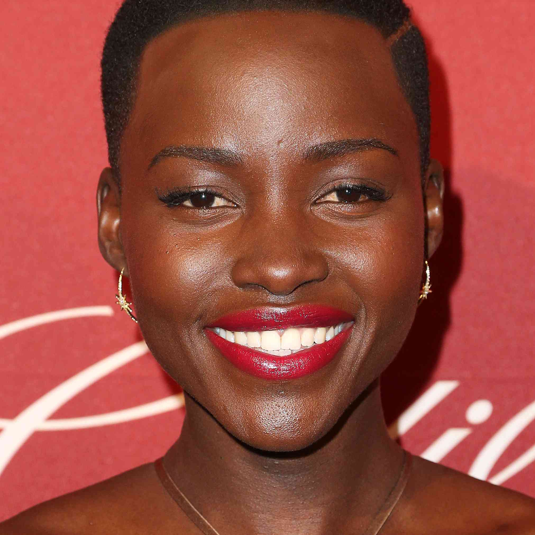 Lupita Nyong'o at the Hollywood Reporter's Annual Nominees Night party.