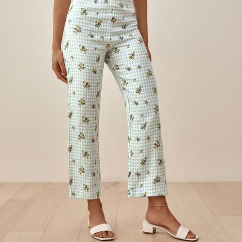 Reformation Pinegrove Linen Pants