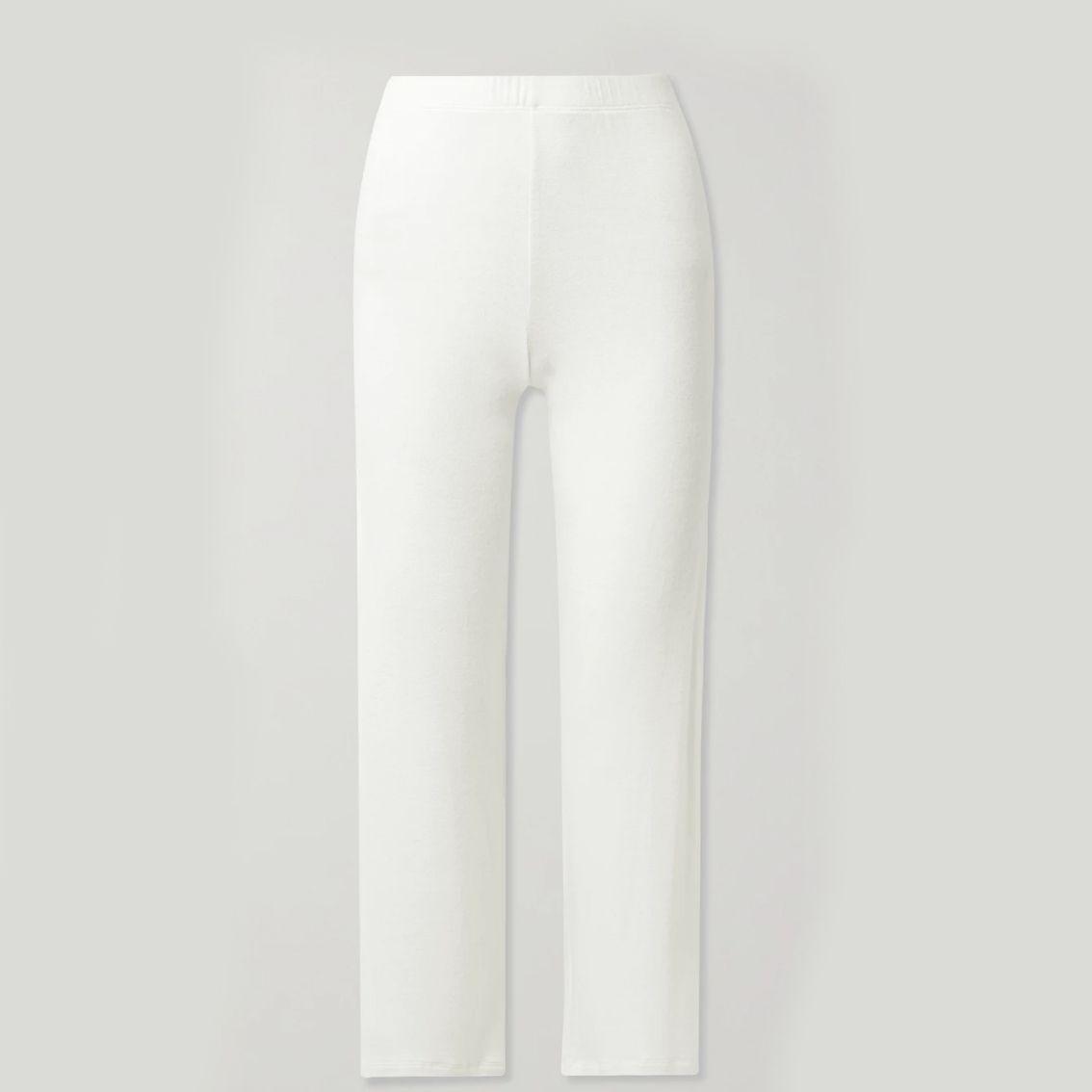Leset Lori Stretched Brushed-Jersey Wide-Leg Pants