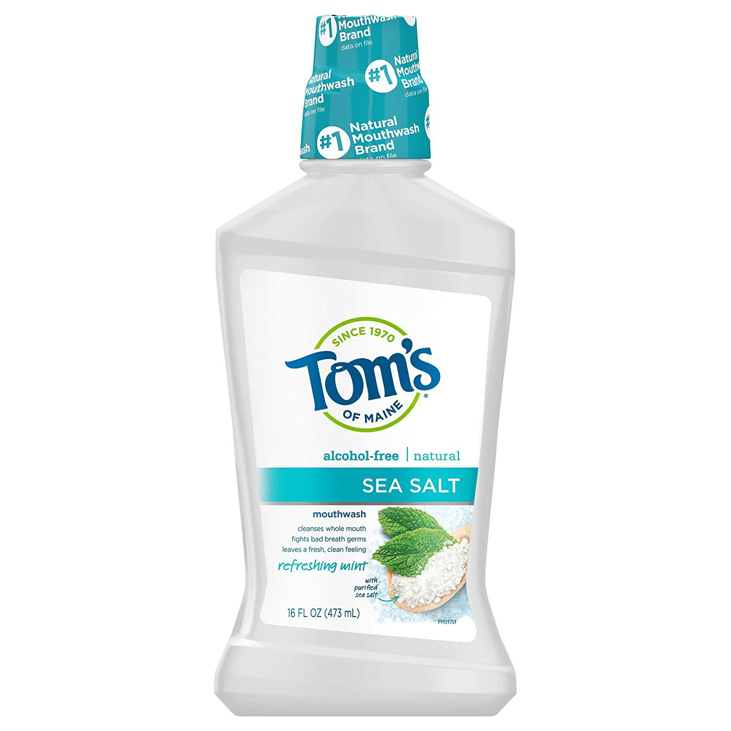 Tom's of Maine Natural Mouthwash 6-Pack