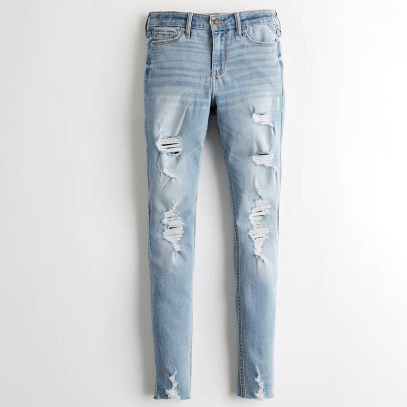 Mid-Rise Super Skinny Jeans