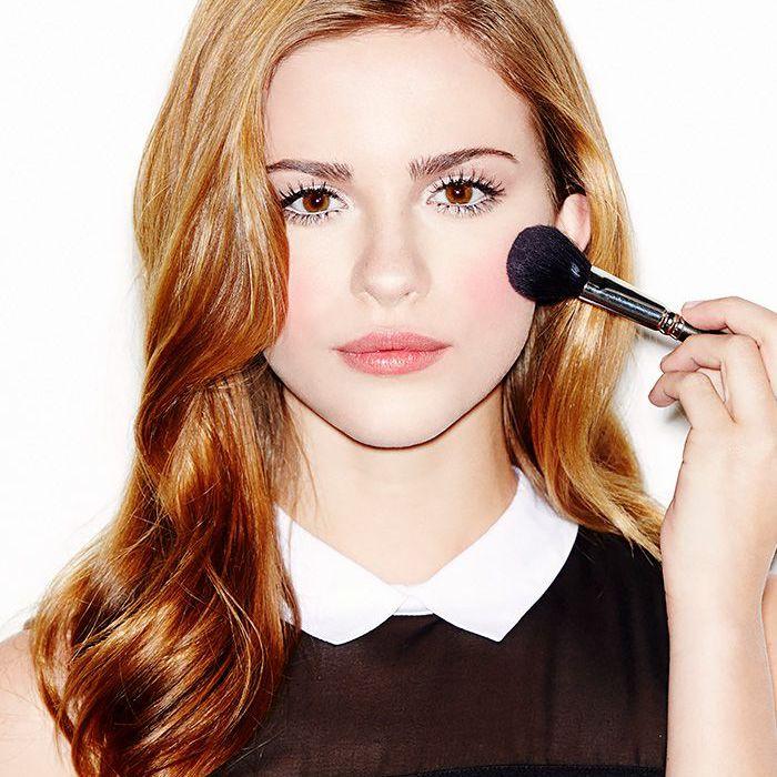 doll makeup blush