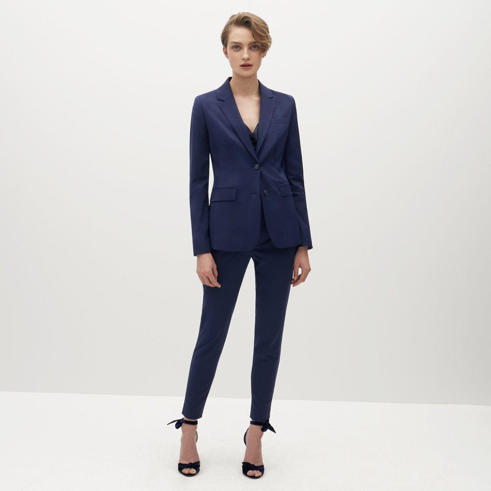 Suit Shop Brilliant Blue Suit