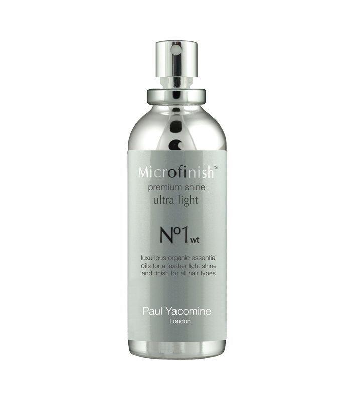 Best hair shine spray: Paul Yacomine Microfinish No 1