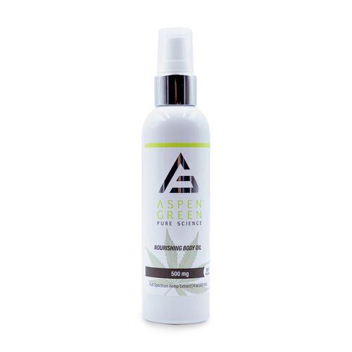 aspen green body oil