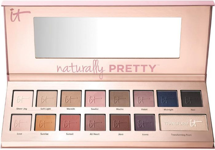 Naturally Pretty Vol 1 Matte Luxe Transforming Eyeshadow Palette
