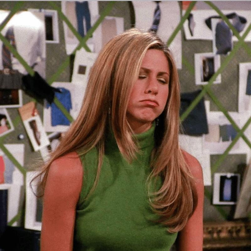 Rachel in Friends