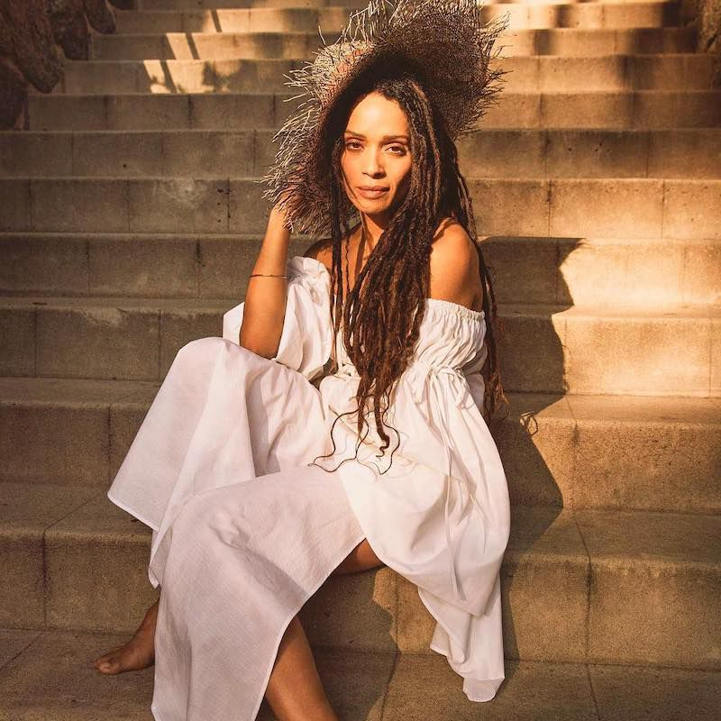 Stages of Loc Hair Rooted Lisa Bonet