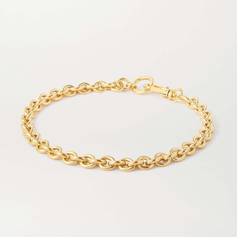 Cable Gold-Plated Necklace
