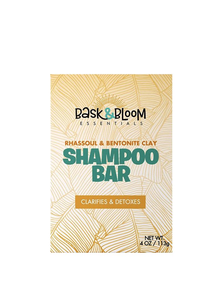 Bask & Bloom Rhassoul & Bentonite Clay Shampoo Bar