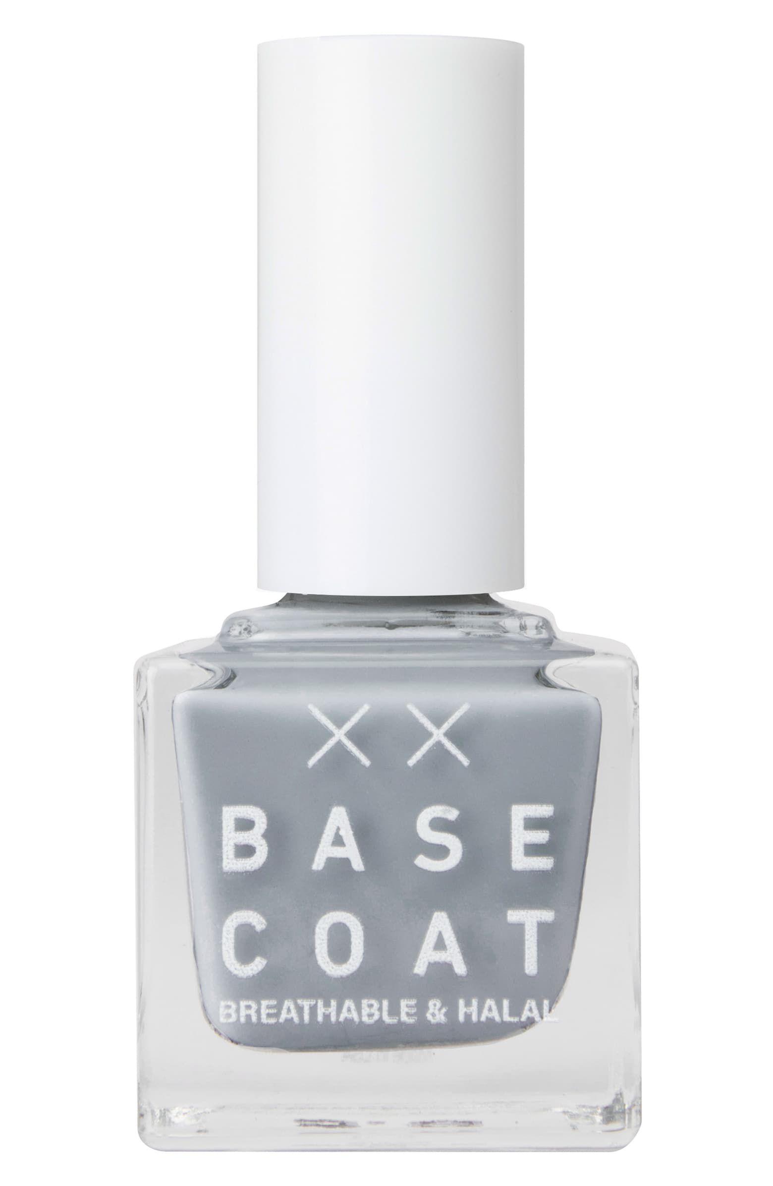 Base Coat Grey Nail Polish