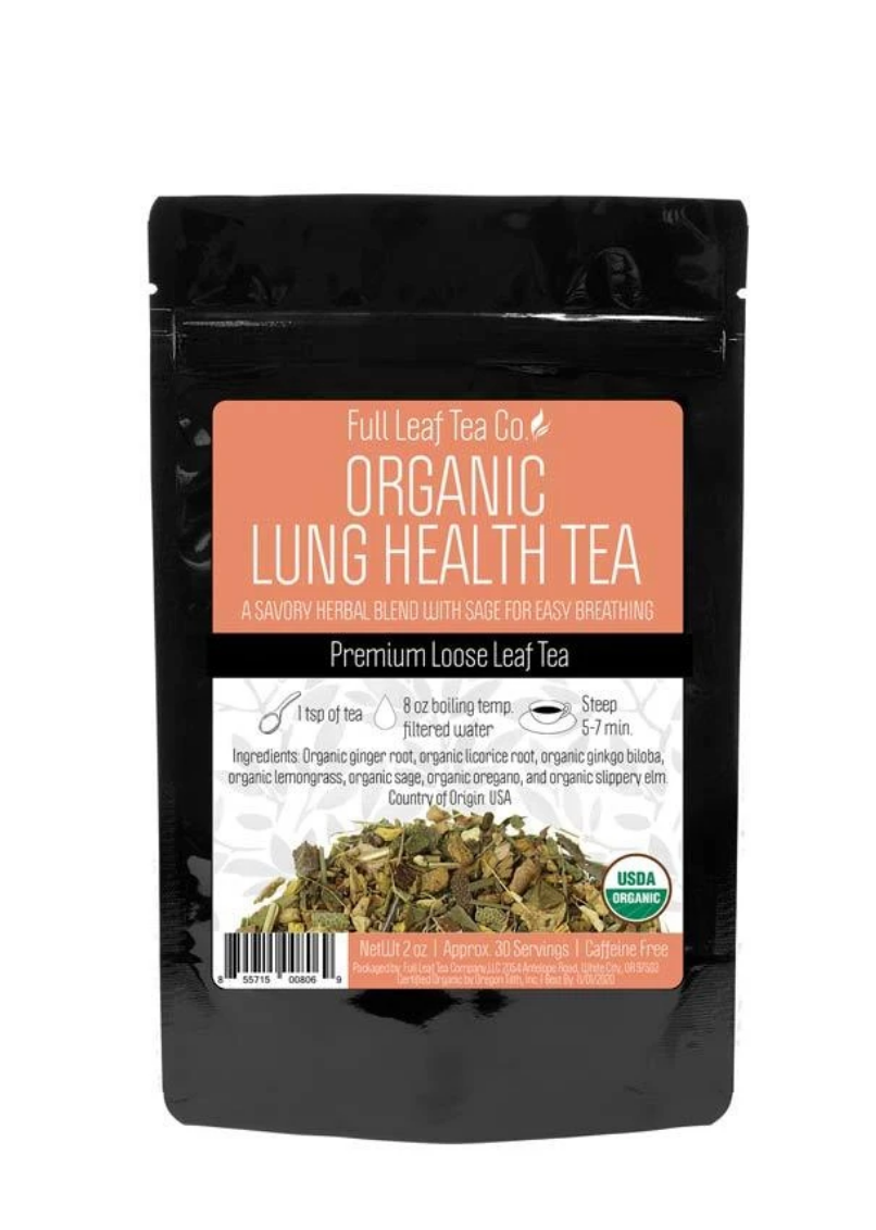 organic lung health tea