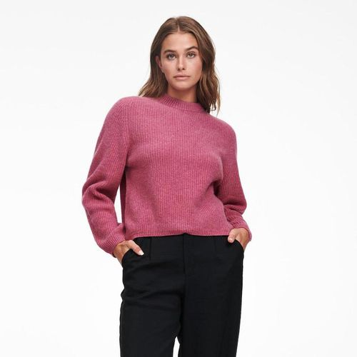 Cashmere Ribbed Mockneck Sweater ($250)