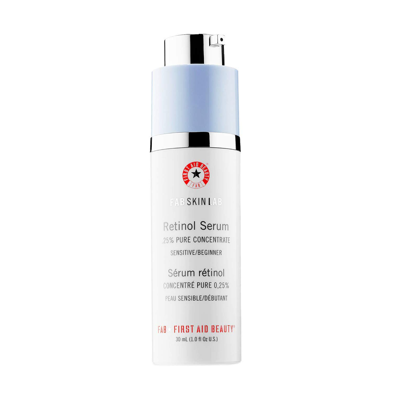 First Aid Beauty FAB Skin Lab Retinol Serum .25% Pure Concentrate