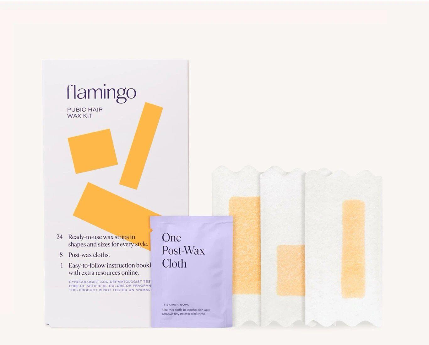 Flamingo Pubic Hair Wax Kit
