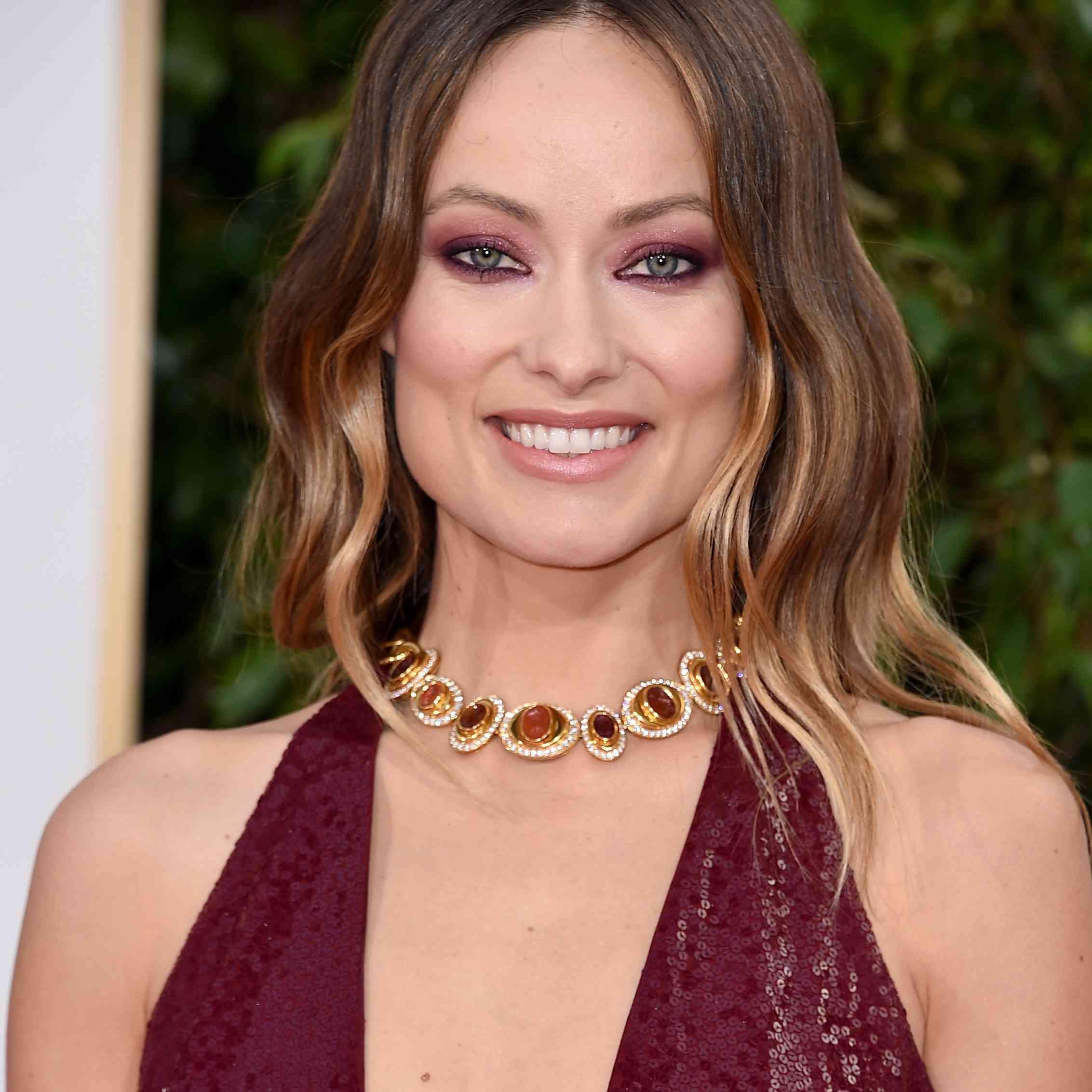 2016 Golden Globe Awards Jewelry - Olivia Wilde
