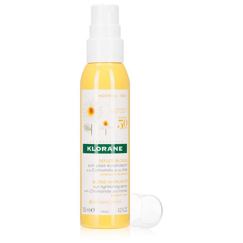 klorane sun lightening spray