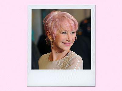 Helen Mirren Hair