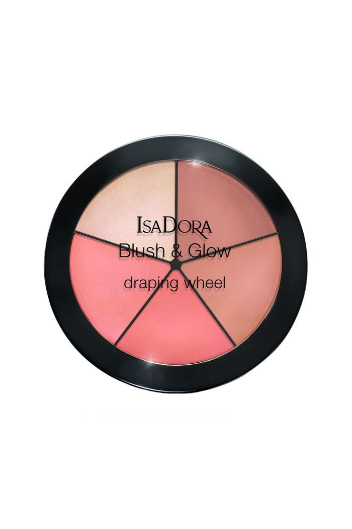 Isadora Draping Wheel Blush and Glow