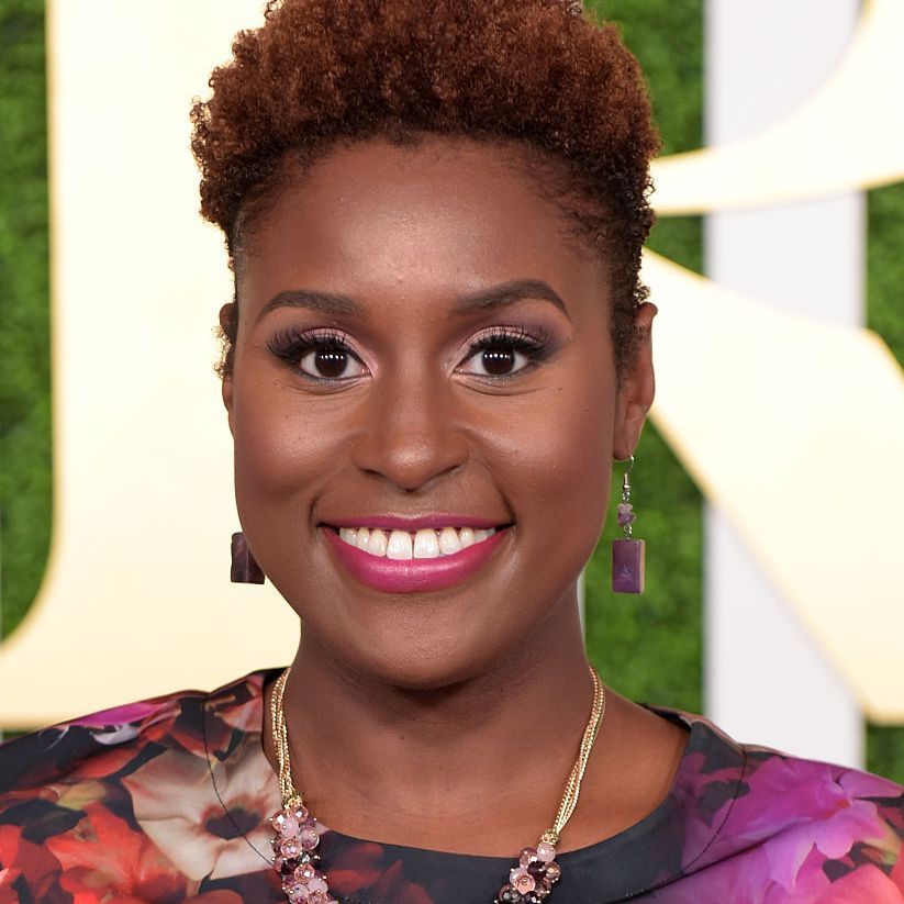 Issa Rae natural curly pixie