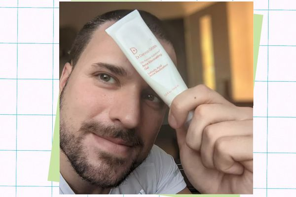 Adam Hurly with Dr. Dennis Gross Acne Eliminating Gel