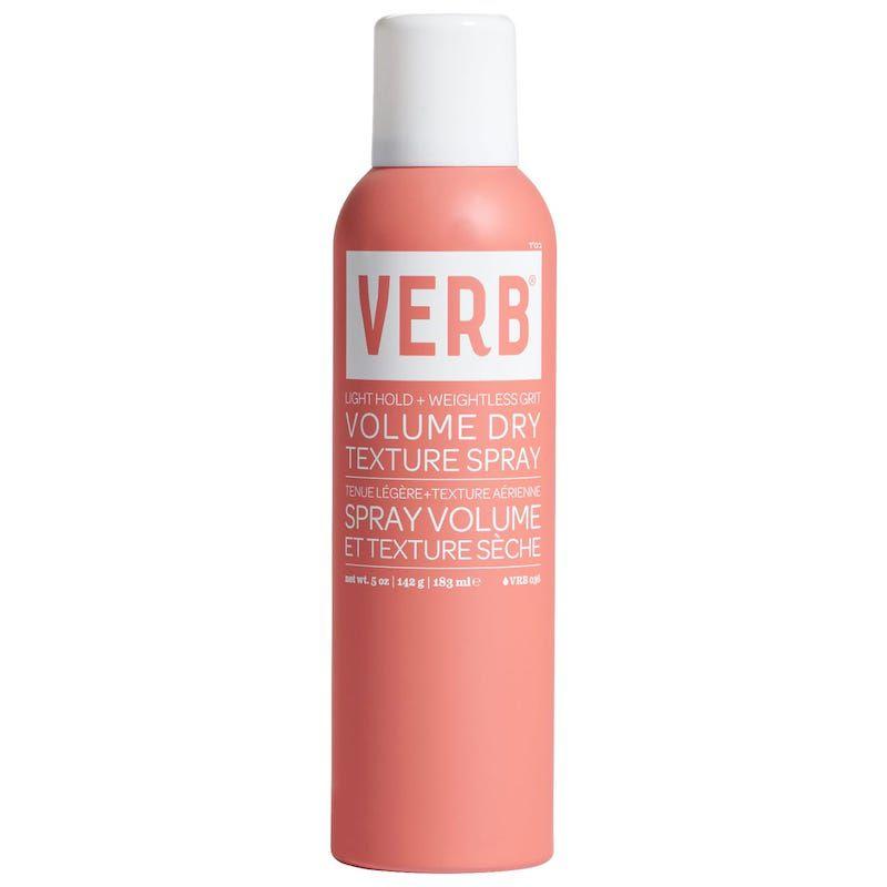 Pink bottle of hair spray