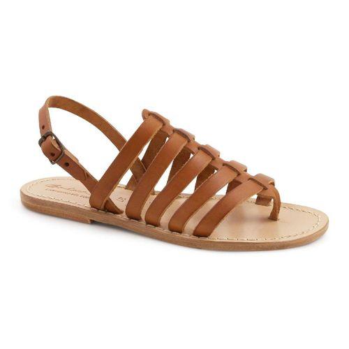 Tan Flat Sandals ($113)