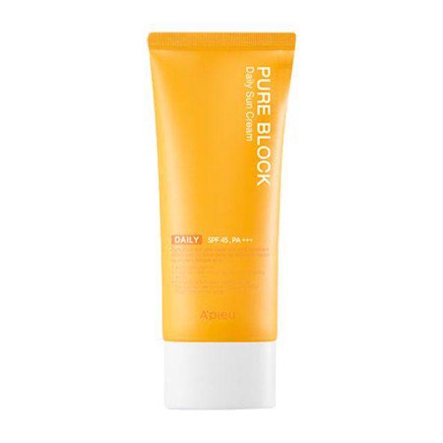A'pieu Pure Block Natural Sun Cream SPF45/PA+++