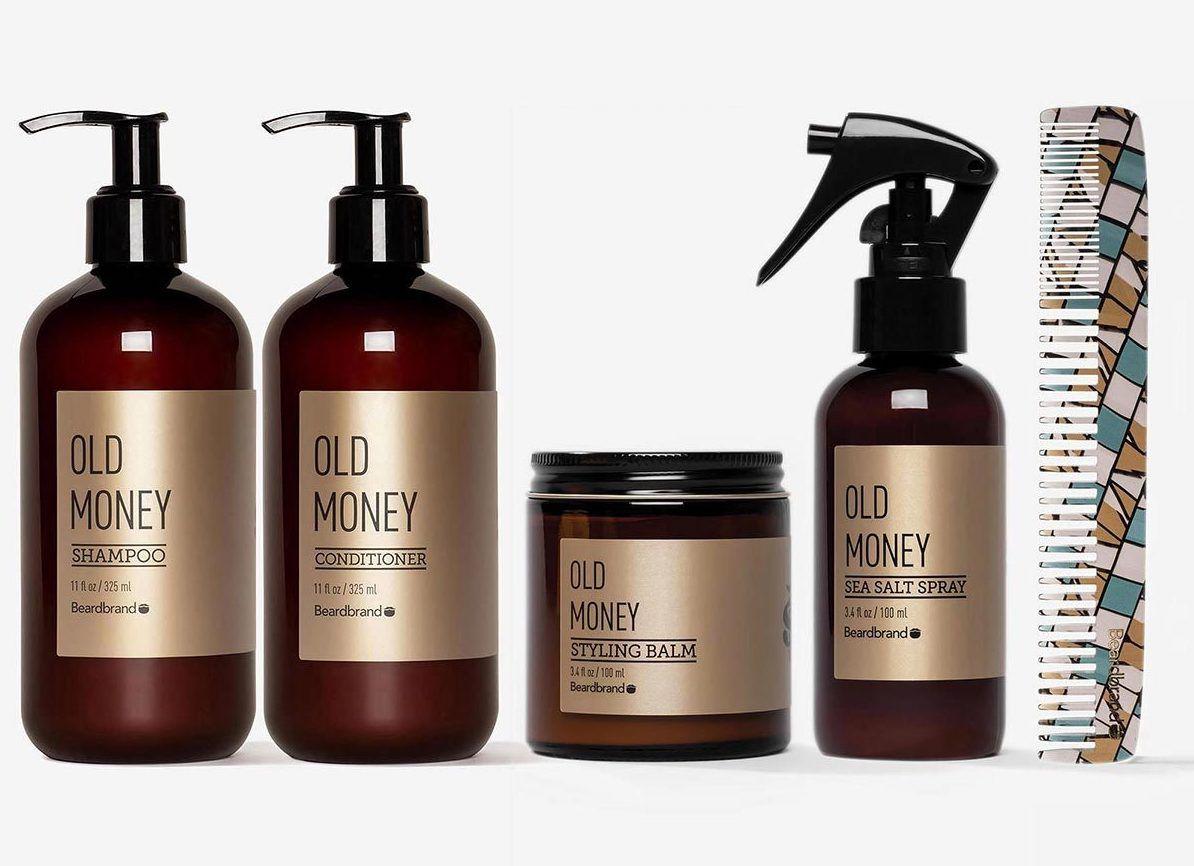 Beardbrand Hair Kit (Four Vices scent)